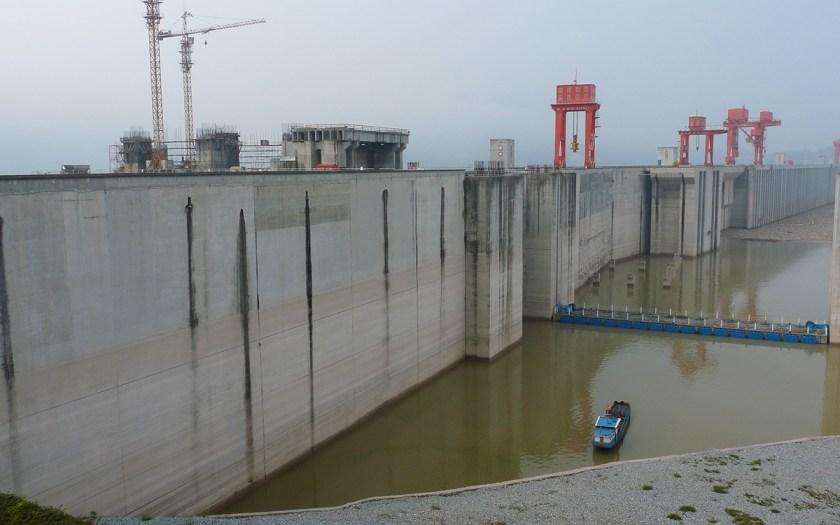 Mega Staudamm in China