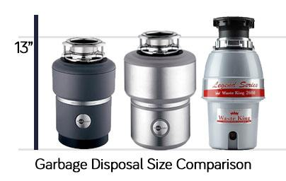 kitchen disposal sink faucet repair waste king vs insinkerator comparison of two best garbage brands
