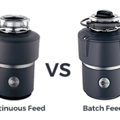 Kitchen Disposal Spice Racks Difference Between Continuous Feed And Batch Garbage