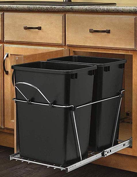 best pull out trash can 2020 undersink