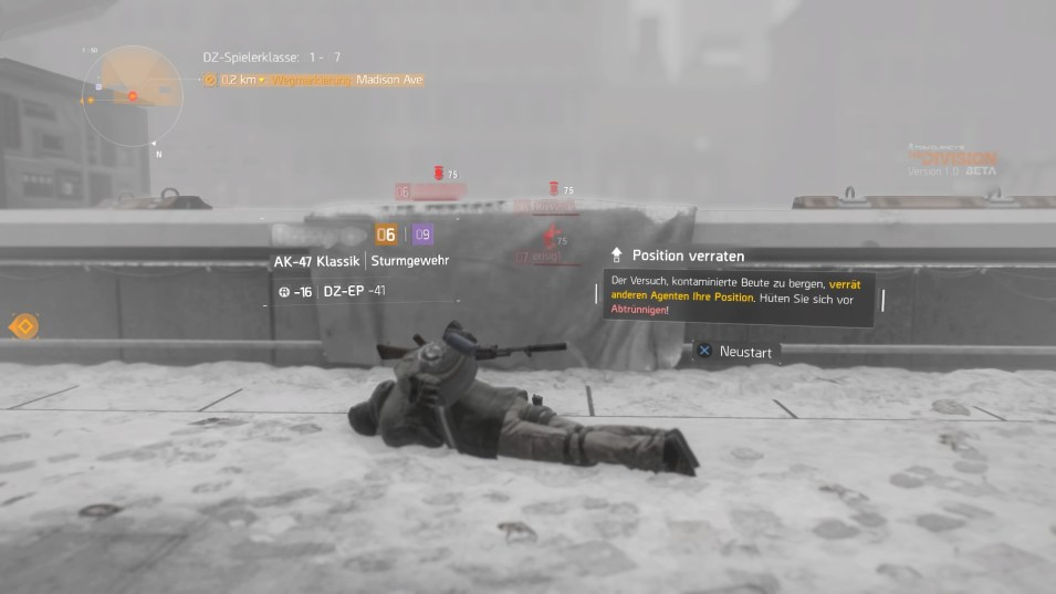 Tom Clancy's The Division™ Beta_darkzone
