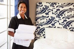 Dispotel, sous-traitance hôtelière. Femme de chambre, gouvernante.
