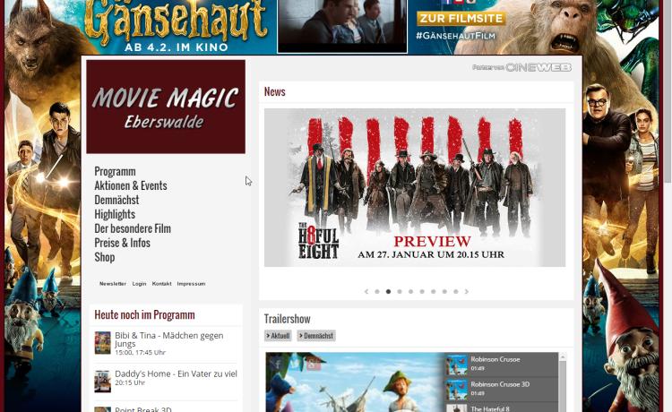 Movie Magic Eberswalde