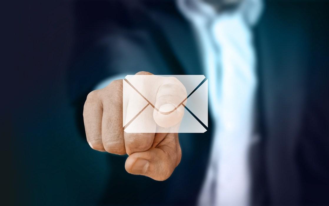 メール返信