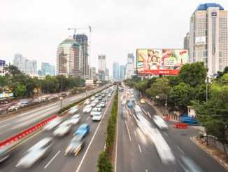 Jakarta electronic billboard porn hack