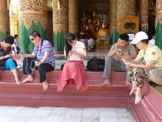 Myanmar smartphones
