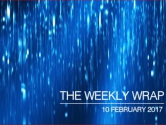 Weekly Wrap 13