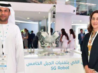 MENA Nokia du 5G robot
