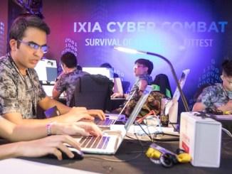 ixia cyber combat