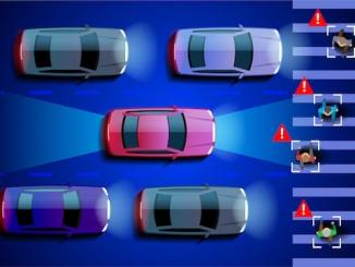 self-driving car pedestrian