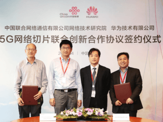 china unicom huawei 5G network slicing