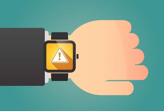 IoT warning notifications