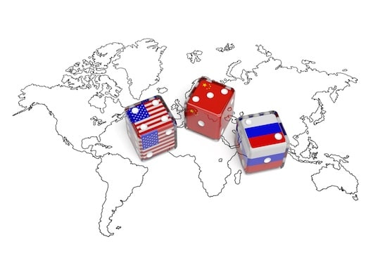 US china russia