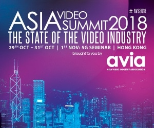 Asia Video Summit 2018 300×250