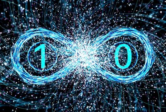 p-bit quantum