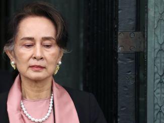 Aung San Suu Kyi Myanmar leader