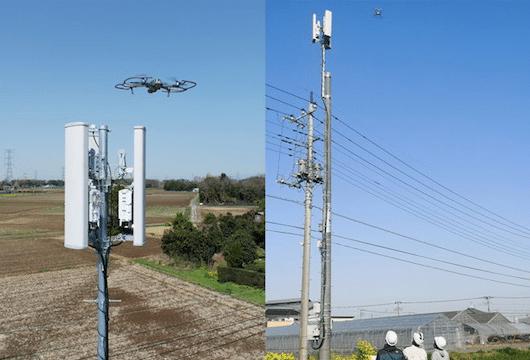 Rakuten Mobile drones