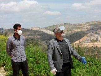 Palestinians virtual reality