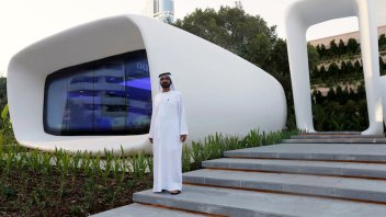 A 3D printed office just opened in Dubai