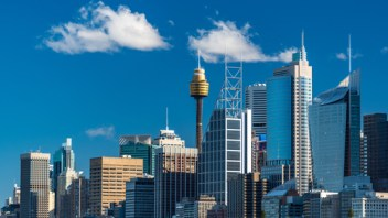 In Sydney's CBD the tech giants are pushing out the banks