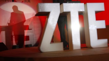 Air clears and ZTE shares jump 10 percent