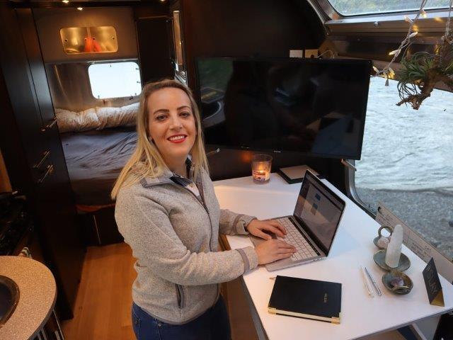 Heather DeSantis Runs A PR Firm From Her Airstream