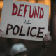 Defund the Police banner
