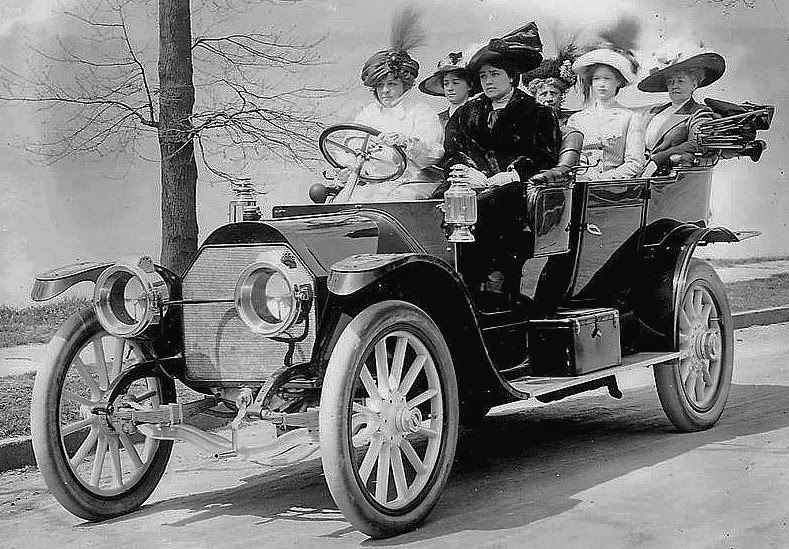 Early 20 Century Women and Automobiles