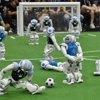 23. Robots that Could Beat World Cup Champs and How Governments Can Work With and Plan For Artificial Intelligence and Effect of AI on Jobs and Society | Prof Peter Stone
