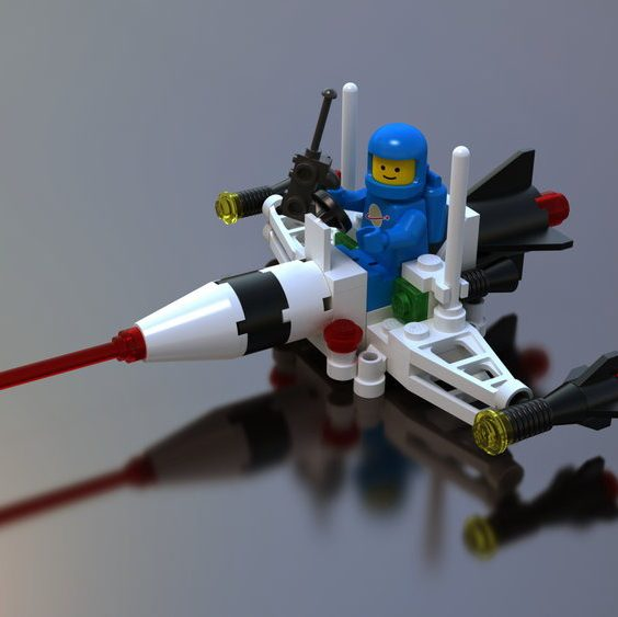 LEGOs space fight