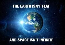 the earth isnt flat
