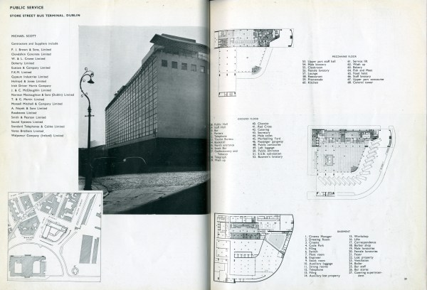 Representing Busras Architectural Survey 1953
