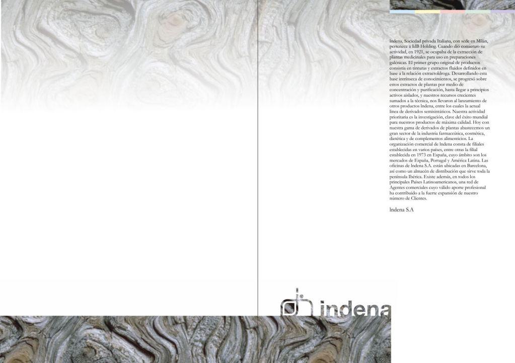 Maquetació de cataleg - doble pàgina interior - Introducció