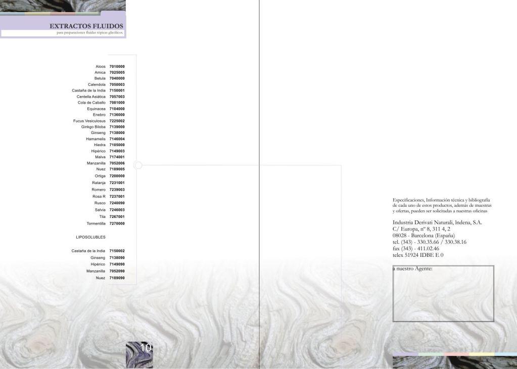 Maquetació de cataleg - doble pàgina interior - Producte