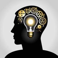Intellectual Property lightbulb head copy