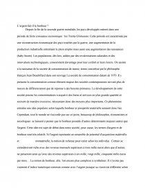 L Argent Fait-il Le Bonheur : argent, fait-il, bonheur, L'argent, Bonheur, Dissertation, Geoffrey, Morey