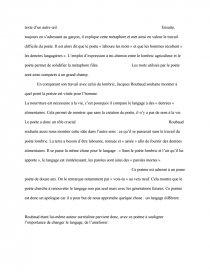 Le Lombric De Jacques Roubaud : lombric, jacques, roubaud, Commentaire, Composé:, Lombric, Texte, Antax