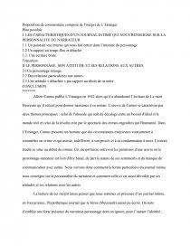 L Incipit De L étranger : incipit, étranger, Commentaire, L'incipit, L'Etranger, D'Albert, Camus, Texte, Delphinium