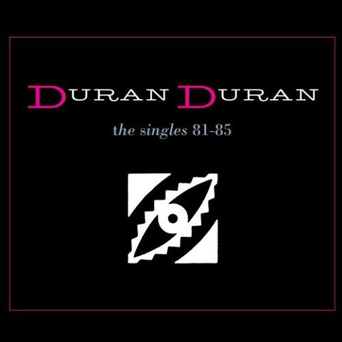 Duran Duran The Singles album cover