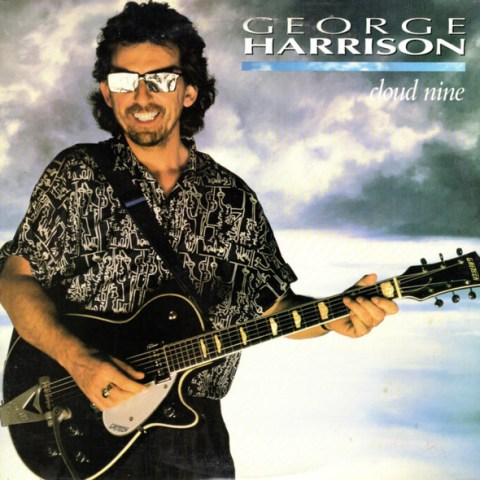 George Harrison album cover for Cloud Nine