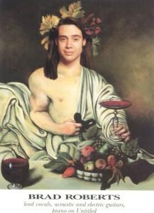 "Album insert: Brad Roberts ""painting"""