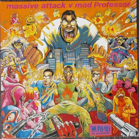 Album cover: Massive Attack vs. Mad Professor