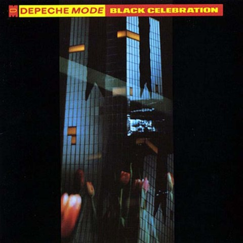 Black Celebration by Depeche Mode album cover