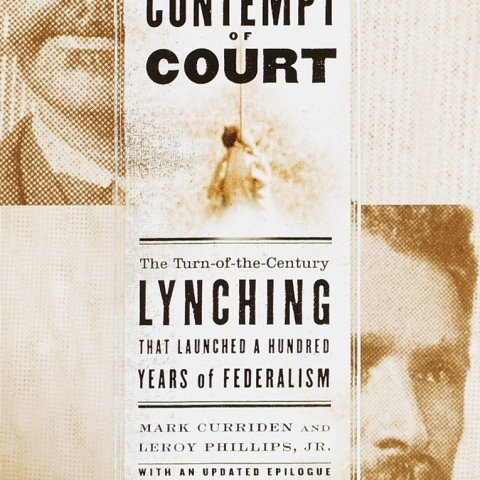 Book Cover: Contempt of Court