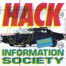 Information Society Album cover: Hack