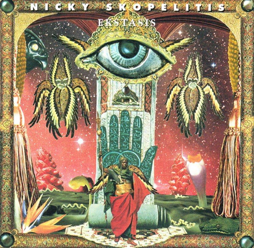 Nicky Skopelitis Ekstasis album cover