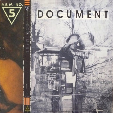 Album cover: Document by R.E.M.