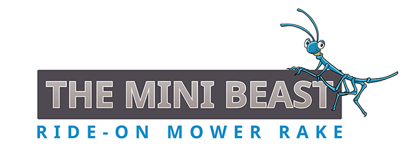 The Mini Beast Ride On Mower Rake
