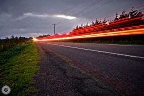 Roadside Light Trails
