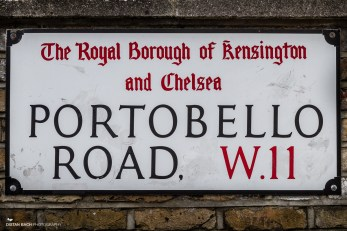 The famous Portobello Road...